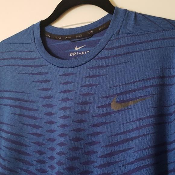 Nike Other - NIKE Dri-Fit Sport Shirt Blue Sz. Large
